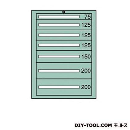 大阪製罐 スタンダードキャビネット 幅×奥行×高さ:693×557×1081mm 6-1009