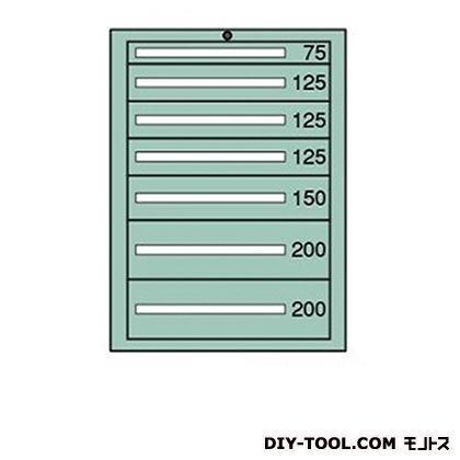 大阪製罐 スタンダードキャビネット 幅×奥行×高さ:693×557×1081mm 6-1023