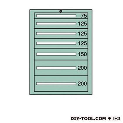 大阪製罐 スタンダードキャビネット 幅×奥行×高さ:793×557×1081mm 7-1023
