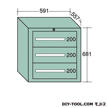 大阪製罐 ライトキャビネット 幅×奥行×高さ:591×557×681mm 5-603