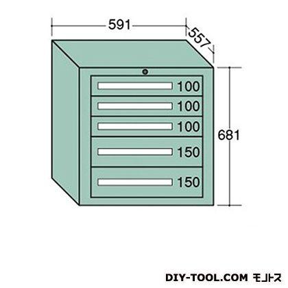 大阪製罐 ライトキャビネット 幅×奥行×高さ:591×557×681mm 5-606
