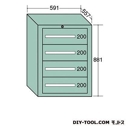 大阪製罐 ライトキャビネット 幅×奥行×高さ:591×557×881mm 5-802
