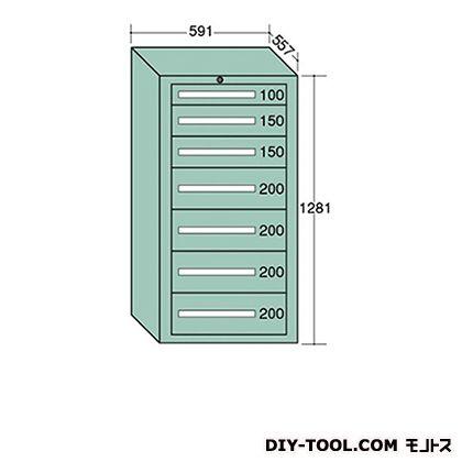大阪製罐 ライトキャビネット 幅×奥行×高さ:591×557×1281mm 5-1204