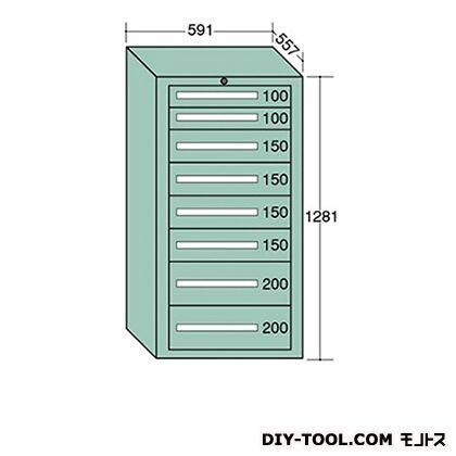 大阪製罐 ライトキャビネット 幅×奥行×高さ:591×557×1281mm 5-1205