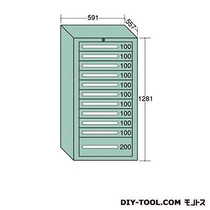大阪製罐 ライトキャビネット 幅×奥行×高さ:591×557×1281mm 5-1217