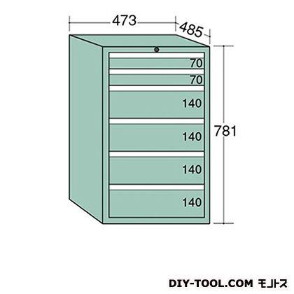 大阪製罐 ライゼットキャビネット 若草 幅×奥行×高さ:473×485×781mm LZ7024