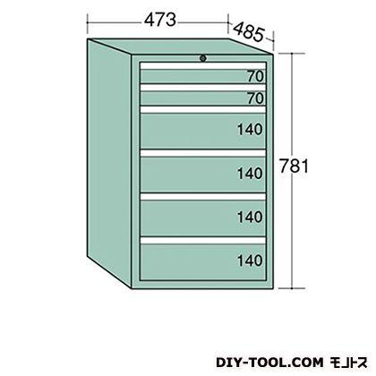 大阪製罐 ライゼットキャビネット レッド 幅×奥行×高さ:473×485×781mm LZ7024R