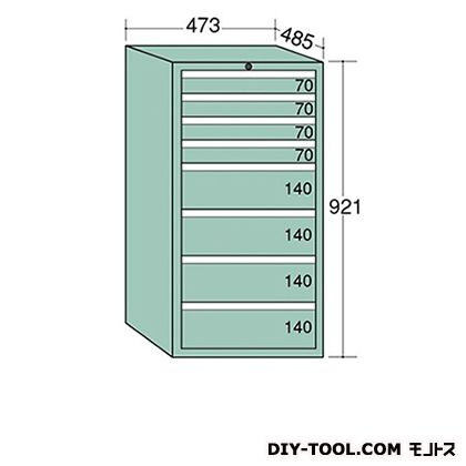 大阪製罐 ライゼットキャビネット 若草 幅×奥行×高さ:473×485×921mm LZ9044