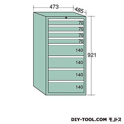 大阪製罐 ライゼットキャビネット Lグレー 幅×奥行×高さ:473×485×921mm LZ9044L