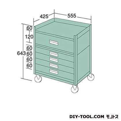 大阪製罐 ラックワゴン 幅×奥行×高さ:555×425×643mm WRS124A