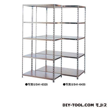 大阪製罐 軽量棚/SUS 幅×奥行×高さ:1503×303×1800mm S41-6514