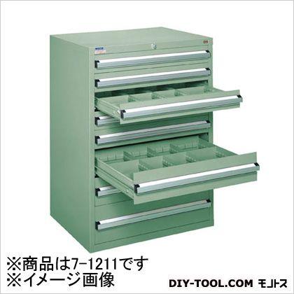 ファッションの 大阪製罐 中量キャビネット7型最大積載量1200kg引出し5×2×2段 71211, ブライツ 5e84c2a1