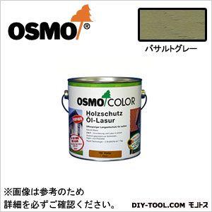 オスモ&エーデル オスモカラーウッドステインプロテクター バザルトグレー 3L 903