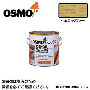 オスモ&エーデル オスモカラー ワンコートオンリー ヘムロックファー 2.5L 1233