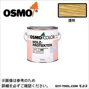 オスモ&エーデル オスモカラーウッドプロテクター防カビ用 透明 2.5L 4006