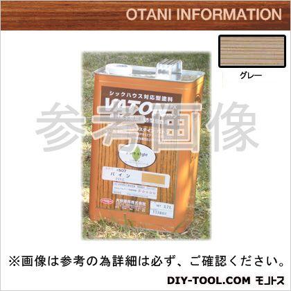 大谷塗料 VATONFX 自然系木部用浸透型着色剤 倉 セール特価 グレー #505 3.7L