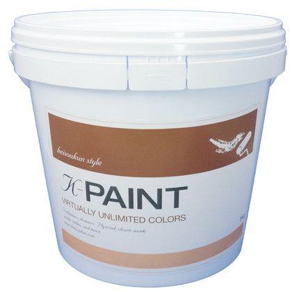 ワンウィル K-PAINT 珪藻土塗料 アプリコット 5kg