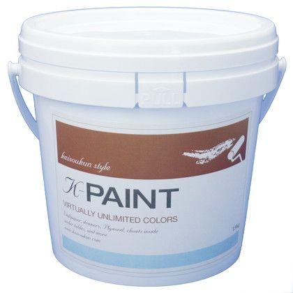 ワンウィル K-PAINT 珪藻土塗料 ベビーグリーン 1.5kg