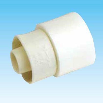 オーケー器材 断熱ドレンホース・カフス(エアコンホース接続用) アイボリー (K-HRA16-80) 80個入