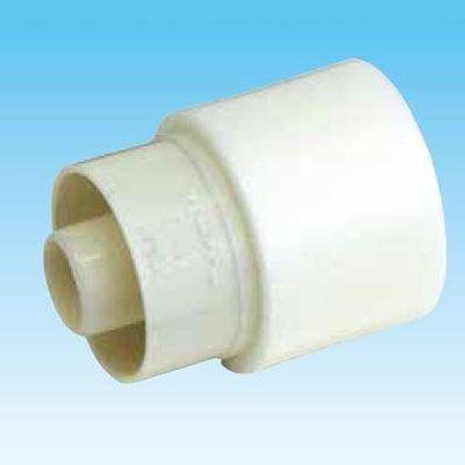 オーケー器材 断熱ドレンホース・カフス(塩ビ管接続用) アイボリー (K-HRC1416-80) 80個入