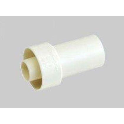 オーケー器材 断熱ドレンホース・ジョイント(塩ビ管継手接続用) アイボリー (K-HRS16-80) 80個入