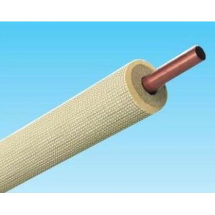 オーケー器材 被覆冷媒配管(シングルコイル 保温材15mm) 12.70×0.8 (K-HSM4E)