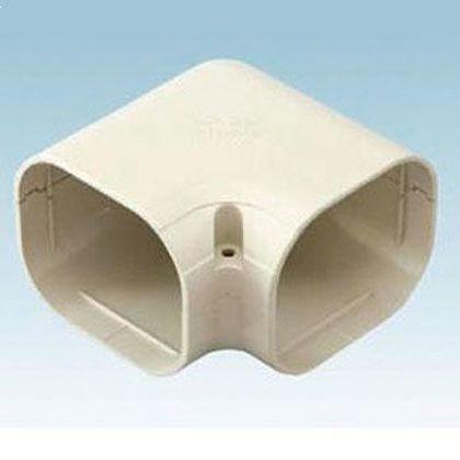 オーケー器材 配管化粧ダクト(スカイダクト)TDシリーズ(平面エルボミニ) ホワイト (K-TDKM6AW20) 20個入