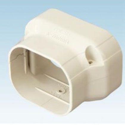 オーケー器材 配管化粧ダクト(スカイダクト)TDシリーズ(異径ジョイント) ホワイト (K-TDR108AW20) 20個入