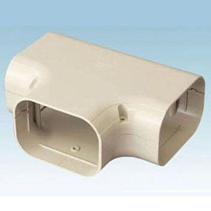 オーケー器材 配管化粧ダクト(スカイダクト)TDシリーズ(チーズ 異径アダプタ付) アイボリー (K-TDT14AC5) 5個入