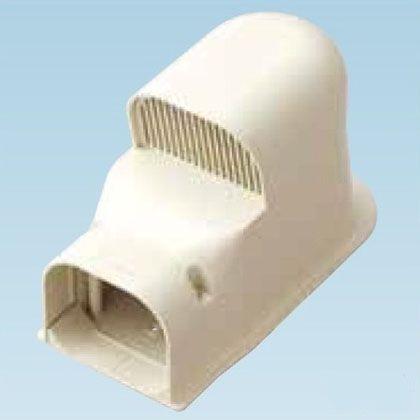 オーケー器材 配管化粧ダクト(スカイダクト)TDシリーズ(ウォールカバー換気用) ホワイト (K-TDWK8AW10) 10個入