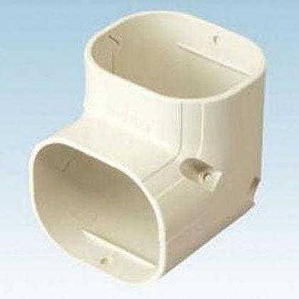 オーケー器材 配管化粧ダクト(スカイダクト)TLシリーズ(立面エルボ) ホワイト (K-TLC9AW10) 10個入