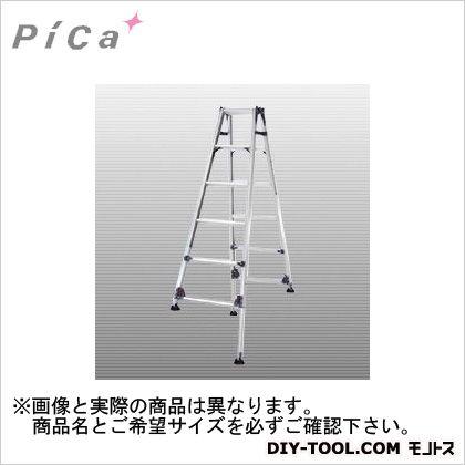 ピカ 四脚アジャスト式伸縮式脚立かるノビSCL型 自在脚タイプ 6~7尺 SCL-J210A