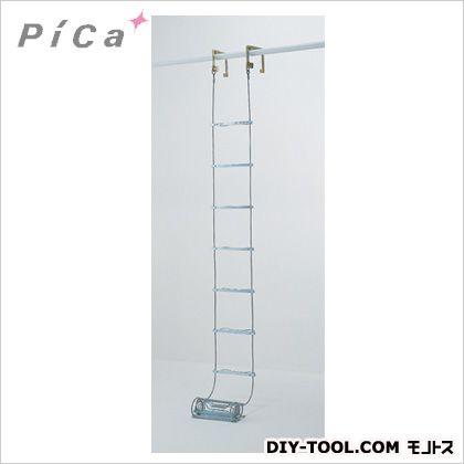 ER-43 ピカ 1点 避難用ワイヤーロープはしごER型4.2m