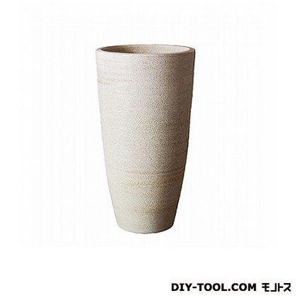 プラスガーデン 鉢カバーネストロングH600 (450-01 ホワイト)