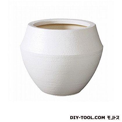 プラスガーデン 植木鉢カバー バレル8号用 (333-01 ホワイト)