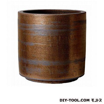 プラスガーデン 鉢カバー コラムミドル300 (416-06 ゴールド)