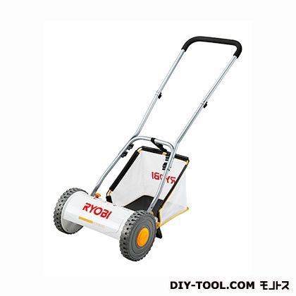 RYOBI/リョービ 手動芝刈り機 白 HLM-3000 手押し 電源不要 刈り込み幅300mm