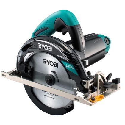RYOBI/リョービ 電子丸のこメッキ定番タイプ W-663EDM 1台