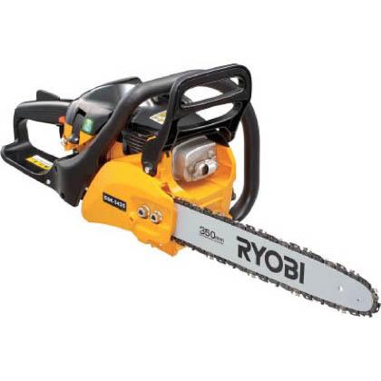 RYOBI/リョービ リョービエンジンチェンソー350mm(リアハンドル) ESK-3435