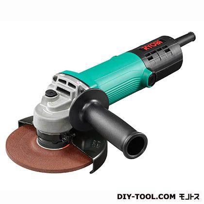 リョービ ディスクグラインダ 緑 長さ263×幅139×高さ94mm G-1261P