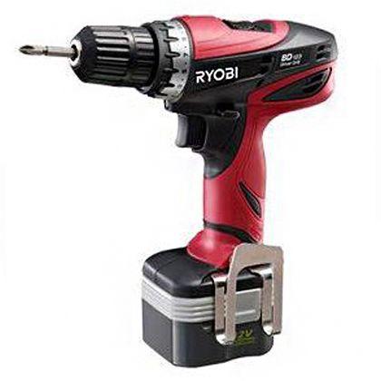 Ryobi 新可充电电钻驱动程序电池包 2 件 BD-123)