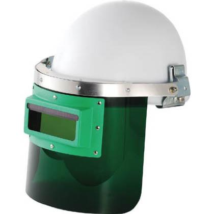 リケン 自動遮光溶接面防災面型(ヘルメット取付タイプ) 365 x 285 x 260 mm GM-HS2