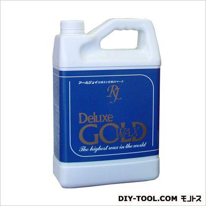 アールジェイ デラックスゴールド 超高濃度樹脂ワックス 5L (DG-05)