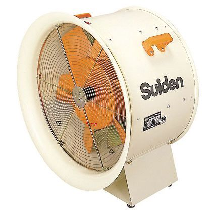 スイデン 送風機(軸流ファンブロア)ハネ490mm・3相200V ホワイト W595×D390×H640 SJF-T506