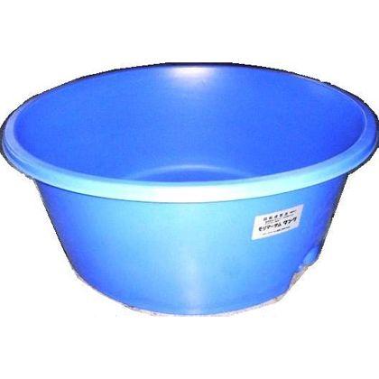 モリマーサム樹脂 OPEN 丸型容器 500L 排水栓付 ブルー LH-500A