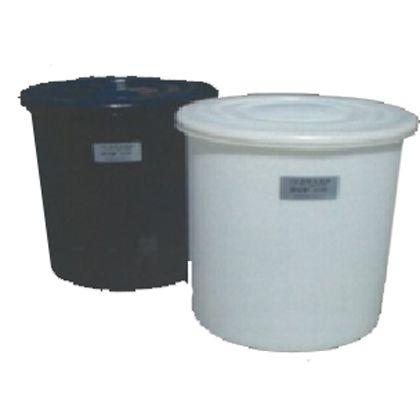モリマーサム樹脂 円筒型容器(蓋付) ホワイト C-300