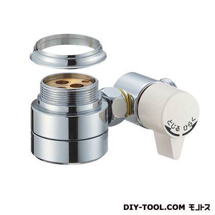 三栄水栓 シングル混合栓用分岐アダプター  B98-AU2