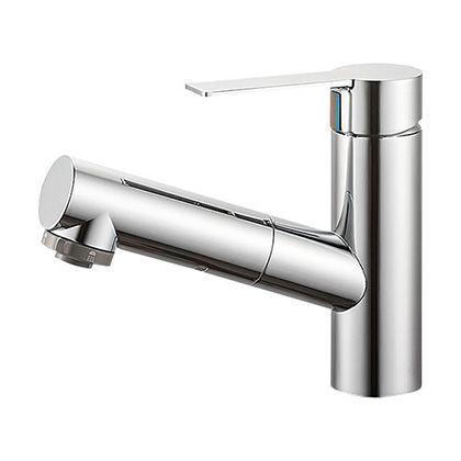 三栄水栓 シングルスプレー混合栓(洗髪用) (K37531JV-13) SANEI  混合栓 シングルレバー混合栓