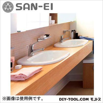 三栄水栓 洗面器 8.9L SL811682-W-104