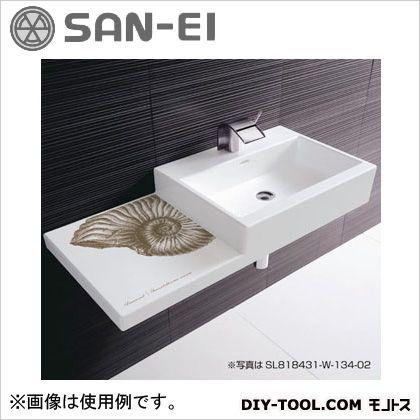 三栄水栓 洗面器 10L SL818431-W-104